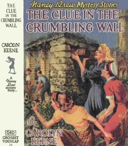The Clue In The Crumbling Walls by Carolyn Keene