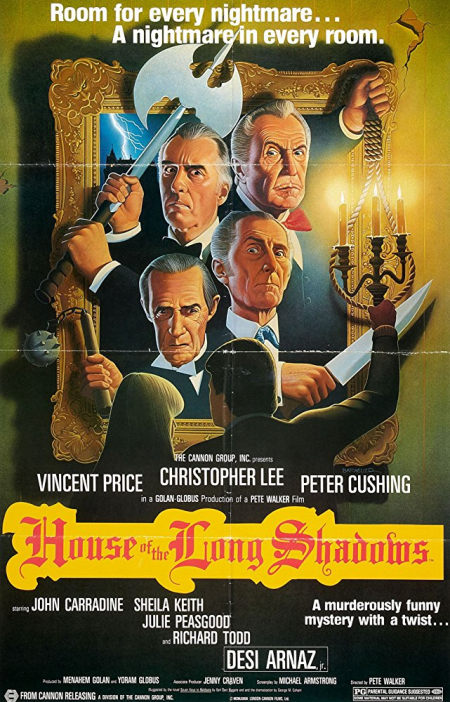 House of long shadows poster