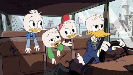 Ducktales - don and nephews