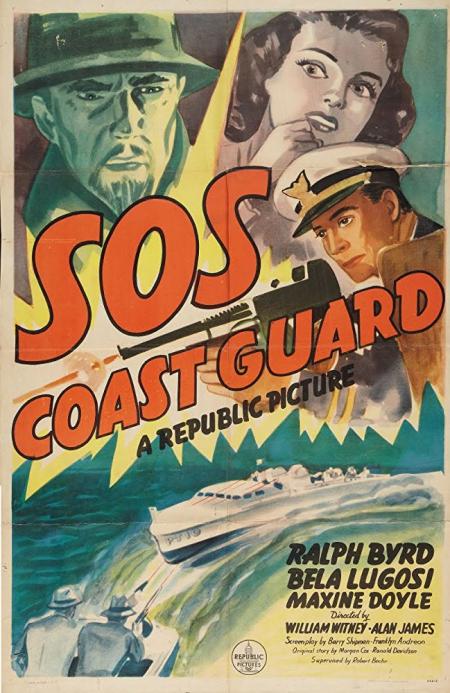 Sos coast guard 1942 poster