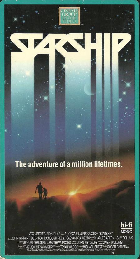 Starship 1984 poster