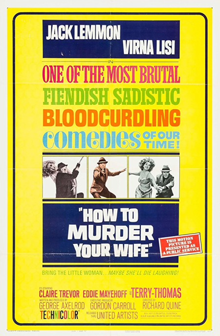 How To Murder Your Wife 1965 c