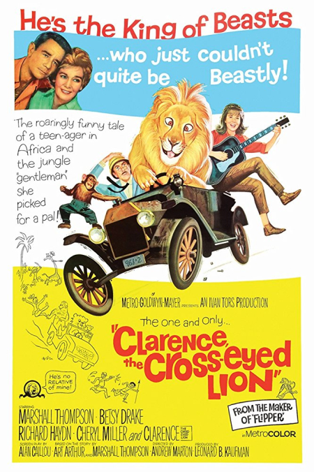 Clarence The Cross-eyed Lion 1965 a