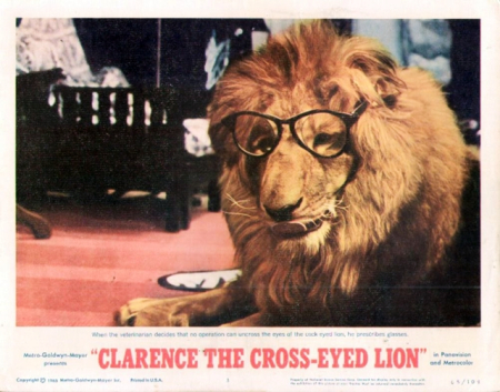 Clarence The Cross-eyed Lion 1965 e