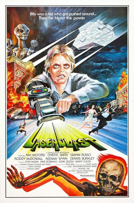 Laserblast 1978 poster