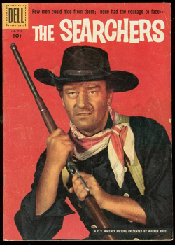 The searchers dell comic