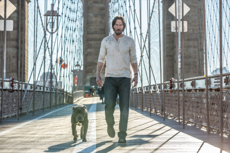 John wick 2 the dog with no name and john