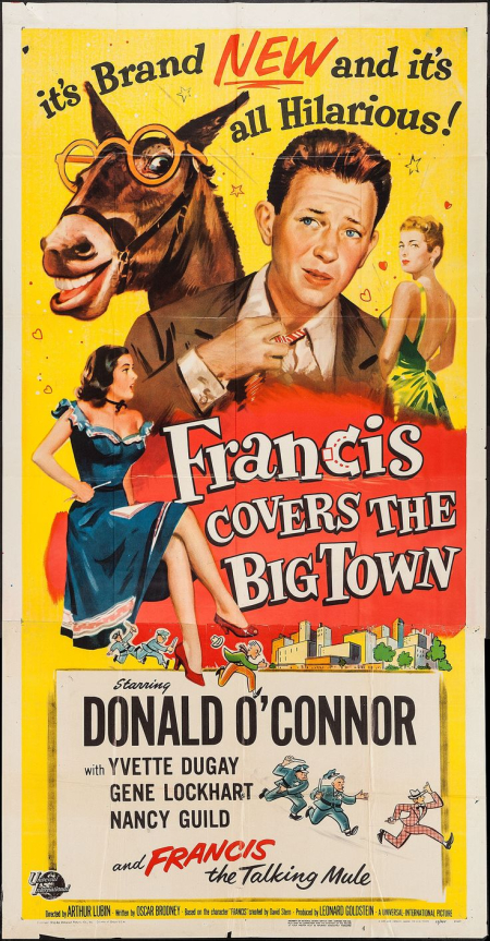 Francis Covers The Big Town 1953 b