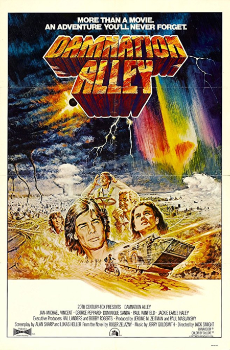 Damnation alley poster