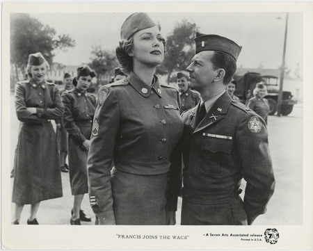 Francis Joins The WACS 1954 a