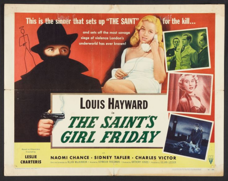 The saint's girls friday 1953 hor