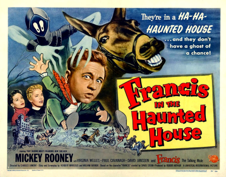 Francis in the haunted house poster large
