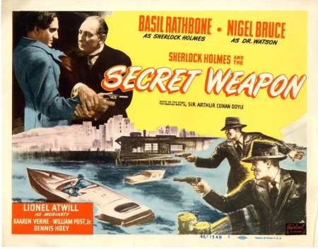 Sherlock Holmes And The Secret Weapon 1942 l