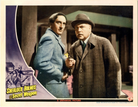 Sherlock Holmes And The Secret Weapon 1942 e