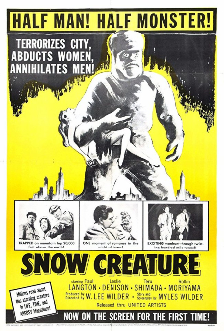 The snow creature 1966 a-001
