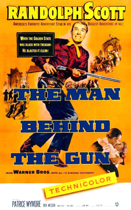 The Man Behind The Gun 1953 d