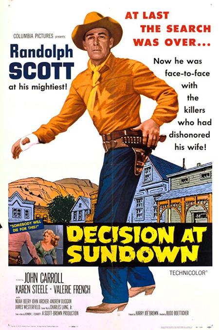 Decision At Sundown 1957
