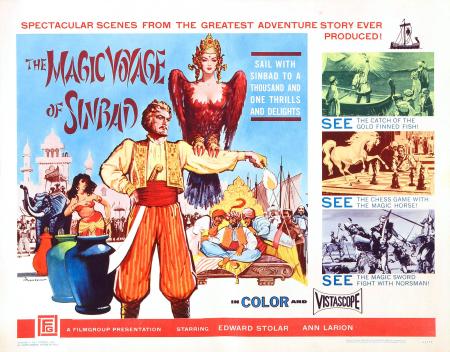 The Magic Voyage Of Sinbad 1962 b