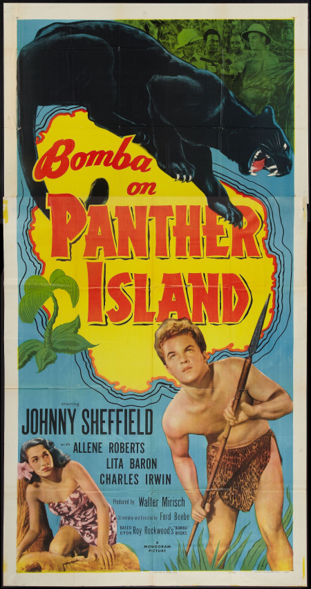 Bomba On Panther Island 1949 e
