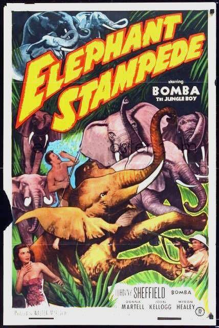 Elephant Stampede 1952 b