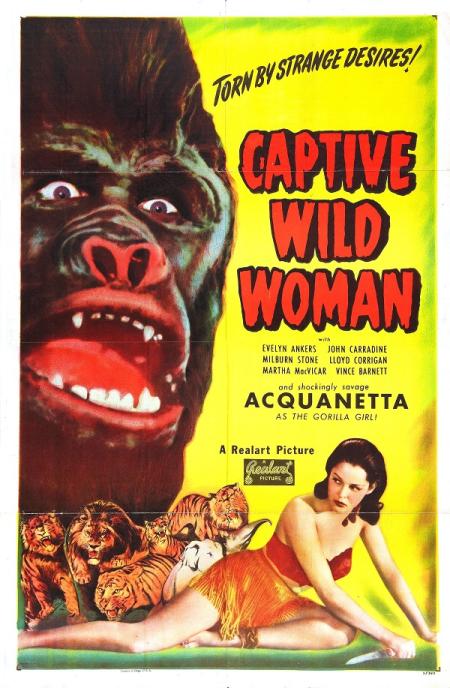 Captive Wild Women 1943