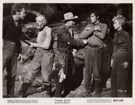 The Naked Spur 1953 cast