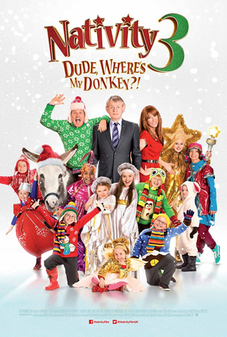 Nativity 3 Dude Where's My Donkey 2014