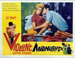 Violent midnight lobby