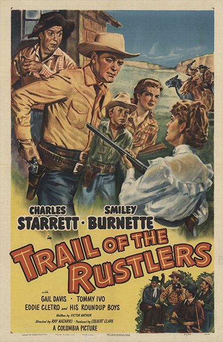 Trail Of The Rustlers 1950