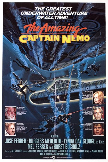 The amazing captain nemo 1978