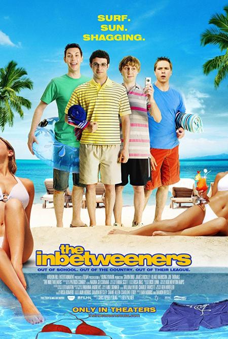 The inbetweeners movie 2011 poster