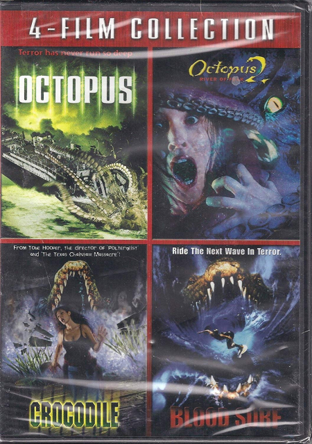Octopus octous 2 blood surf crocodile dvd
