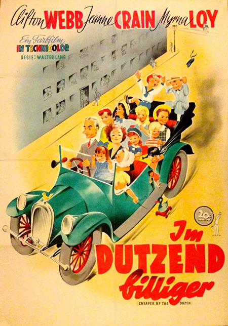 Cheaper by the dozen 1950 a