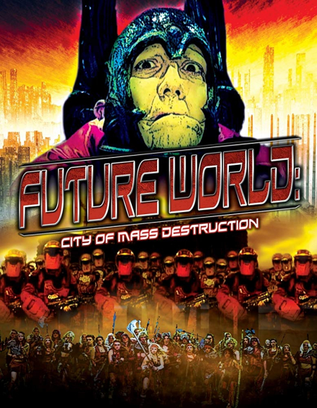 Future World City Of Mass Destruction