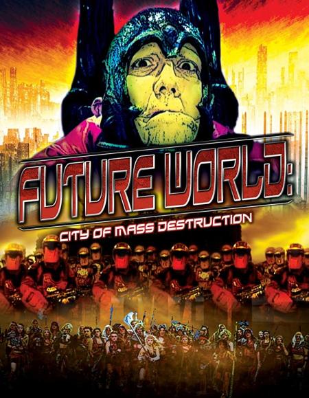 Future World City Of Mass Destruction