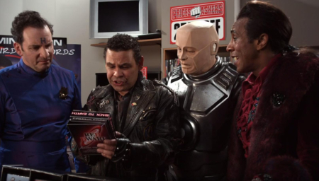 Red dwarf back to earth a