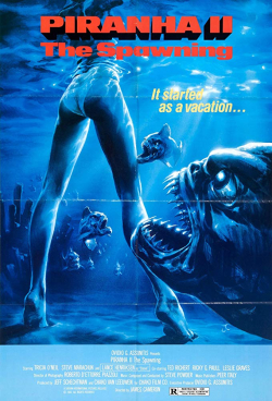 Piranha 2 the spawning 1981