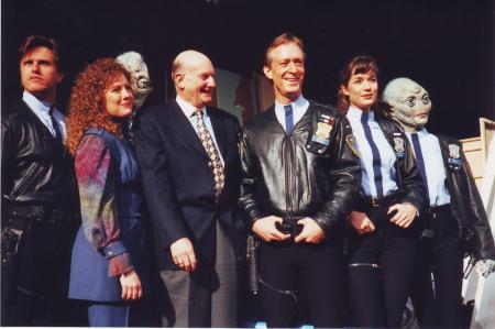 Space precinct cast