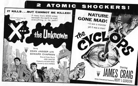 Cyclops  the 1957 ad