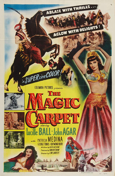 The Magic Carpet 1951 c