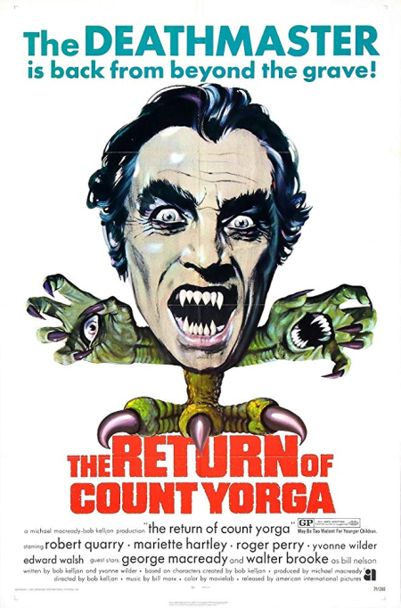 The Return Of Count Yorga 1971 c