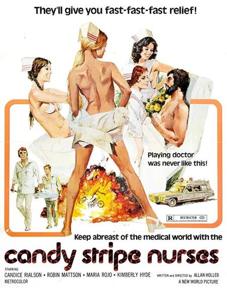 Candy Stripe Nurses 1974-001