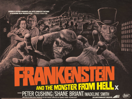 Frankenstein And The Monster From Hell 1973 d