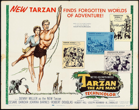 Tarzan the ape man 1959 a