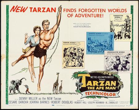 Tarzan the ape man 1959 a