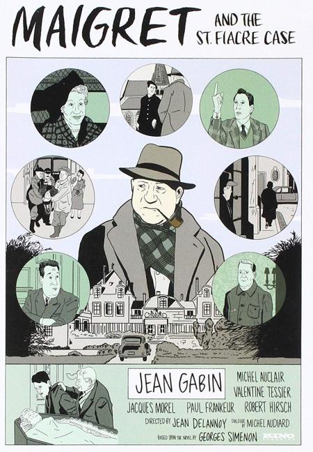 Maigret & St Fiacre Case 1959 a