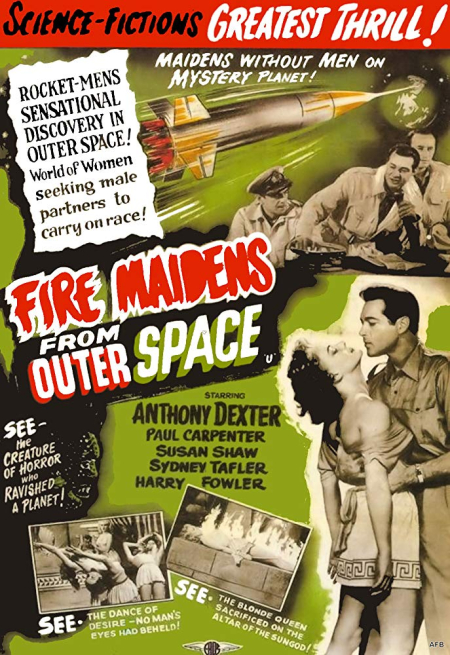 Fire maidens from outer space 1956 c