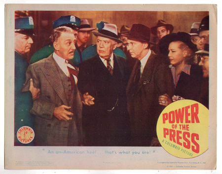 Power Of The Press 1943 c