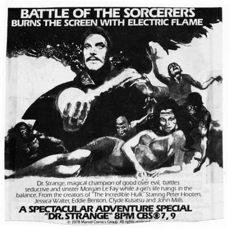 Dr strange 1978 ad