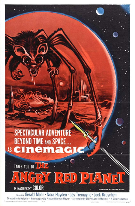The Angry Red Planet 1960 b